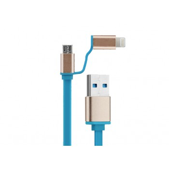 Kucipa 2-in-1 Combo Cable for Apple / Android