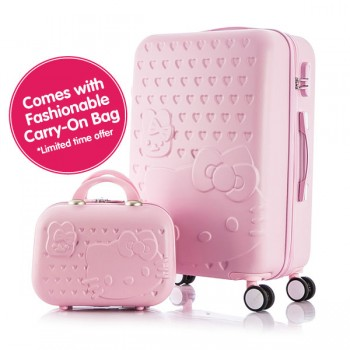 Hello Kitty / Paul Frank Luxury Travel Luggage