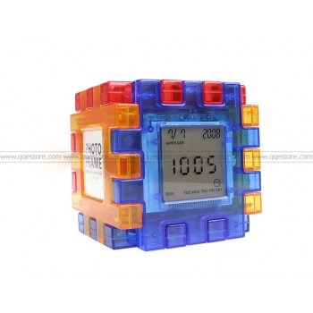 Amazing Cube Calender Clock
