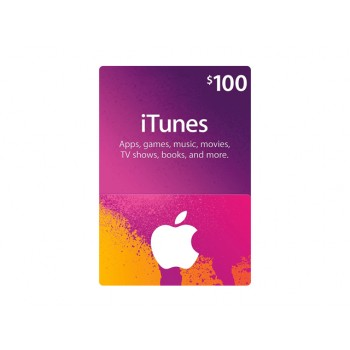 Apple iTunes Gift Card US$100.00