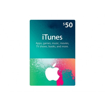 Apple iTunes Gift Card US$50.00