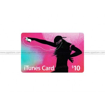 Apple iTunes Gift Card US$10.00