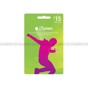 Apple iTunes Gift Card US$15.00