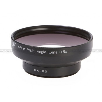 Wide Angle Lens 0.5X + Marco (58mm)