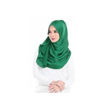 Shawlbyvsnow ES Messaline Bright Green