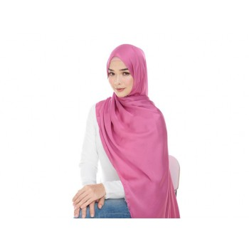 Shawlbyvsnow ES Messaline Bright Rose