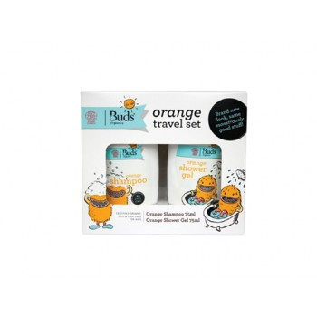 Buds Orange Travel Set