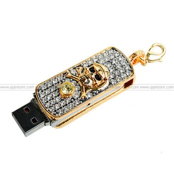 USB Jewel Thumb Drive Skeleton (4GB)
