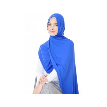 Shawlbyvsnow Clare Electric Blue