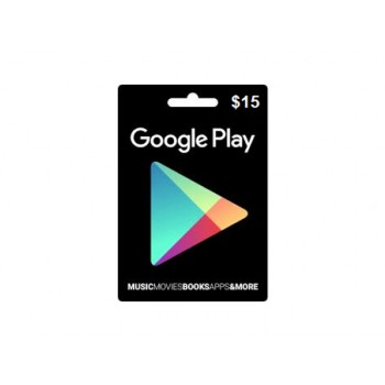 Google Play Gift Card US $15