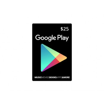 Google Play Gift Card US $25