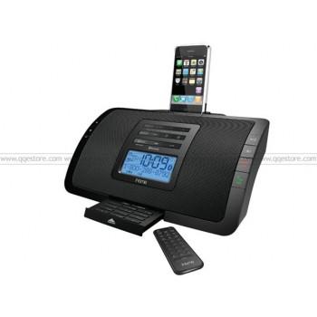 iHome Bluetooth Clock Radio,Speakerphone for iPhone and iPod