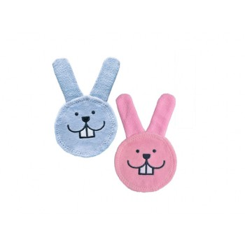 MAM Oral Care Rabbit Teething Glove (0 Plus Month)