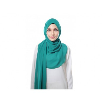 Shawlbyvsnow Essential Scarf Basic Mint Green