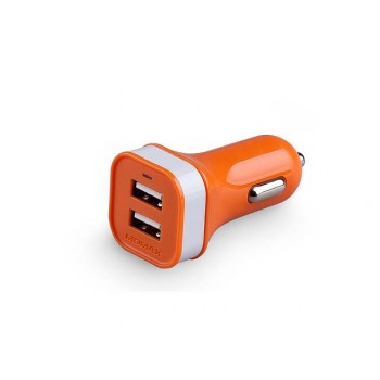 Momax XC Double Colorful USB Car Charger