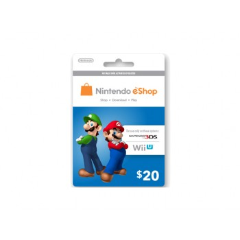 Nintendo eShop Card US $20