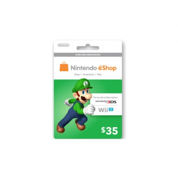 Nintendo eShop Card US $35