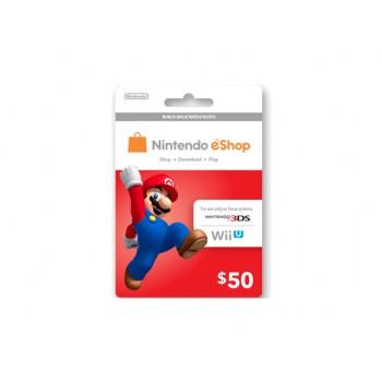 Nintendo eShop Card US $50