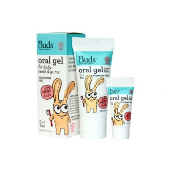 Buds Organics Oral gel for baby teeth & gums With Xylitol