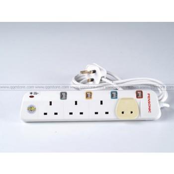 Pensonic Surge Protection Trailing Socket (4 Gang)