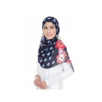 Shawlbyvsnow Printed Chiffon Long Headscarf Print PSC 036