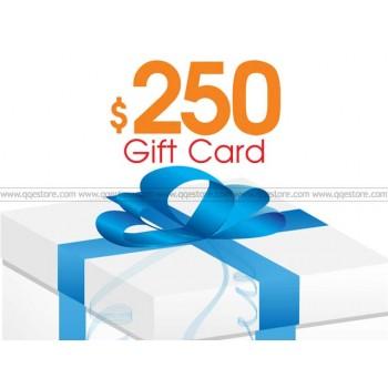 QQeStore $250 Gift Cards