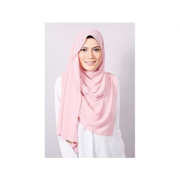 Shawlbyvsnow Plain Machine Rolled Rose Cloud