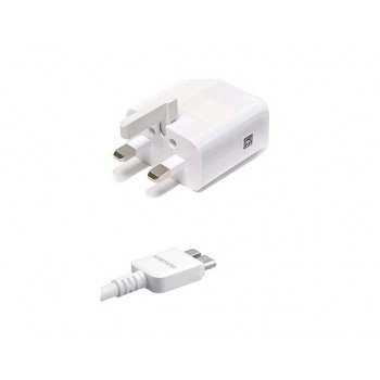 Samsung Mains Charger EP-TA10UWE with USB Cable