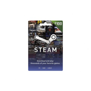 Steam Card US $100
