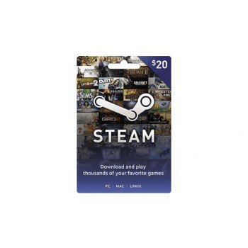 Steam Card US $20