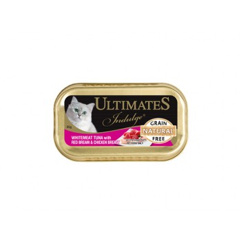 Ultimates Indulge White Meat Tuna with Red Bream & Chicken Breast (Cat Wet Food)