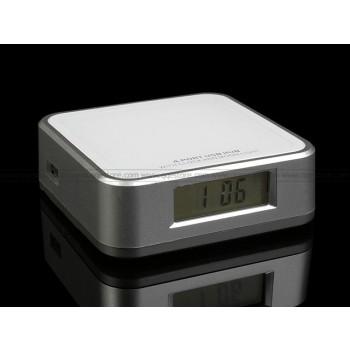 USB Hub with Clock and Mood Light USB 2.0
