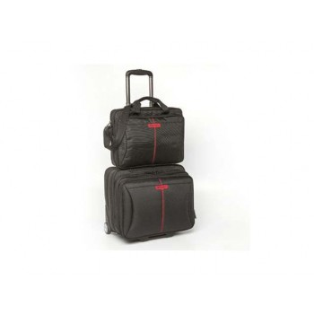 "Verbatim Frankfurt 2 in 1 Overnight Roller for 15.6"" Notebook"