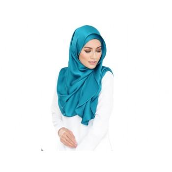 Shawlbyvsnow ES Messaline Wales Turquoise