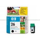 HP 26 Black Inkjet Print Cartridge