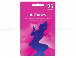 Apple iTunes Gift Card US$25.00