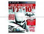 Batman: Arkham City Game Of The Year (PS3)