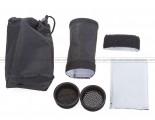 Universal Portable Flash Gun Effects Set: 2 Reflectors + 2 Honey