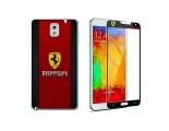 Newmond Ferrari Crystal Premium Tempered Glass Protector for Samsung Galaxy Note 3