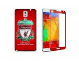 Newmond Liverpool Crystal Premium Tempered Glass Protector for Samsung Galaxy Note 3
