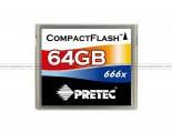 PRETEC 64GB CF (567X) Memory Card
