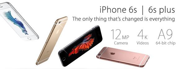 Apple iPhone 6s  / 6s plus