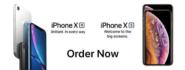 iPhone XR iPhone XS
